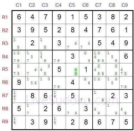 Sudoku XY Flügel