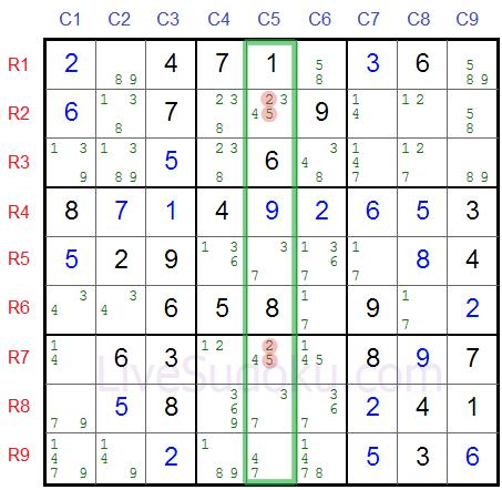 Sudoku Hidden Triples