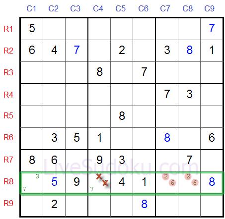 Sudoku Naked Pairs