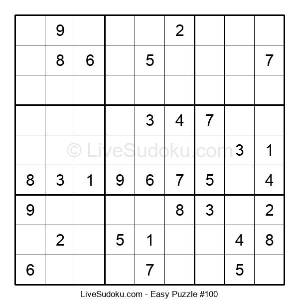 Beginners Puzzle #100