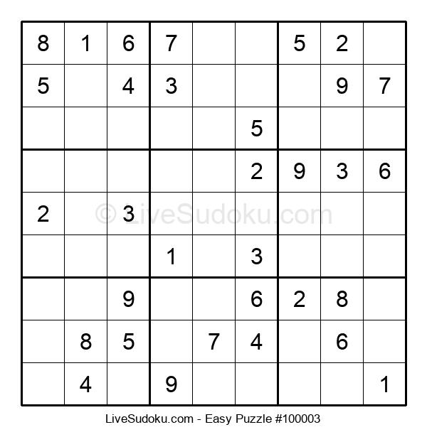 Beginners Puzzle #100003