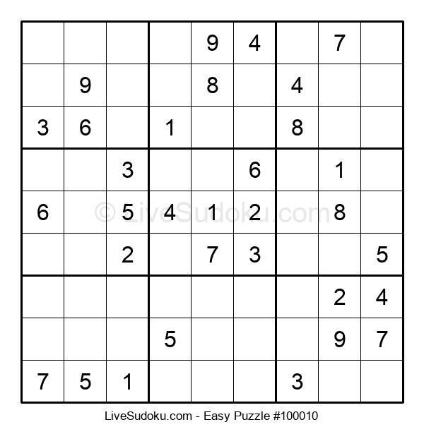 Beginners Puzzle #100010