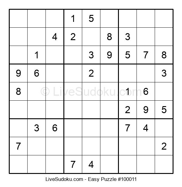 Beginners Puzzle #100011