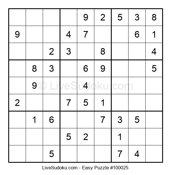 Beginners Puzzle #100025