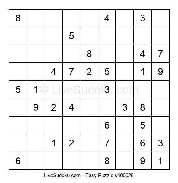 Beginners Puzzle #100028