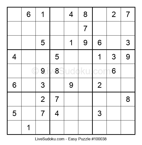Beginners Puzzle #100038