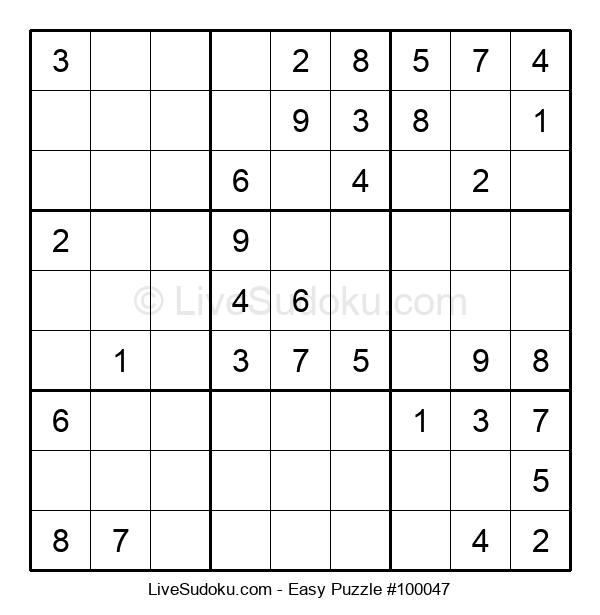 Beginners Puzzle #100047