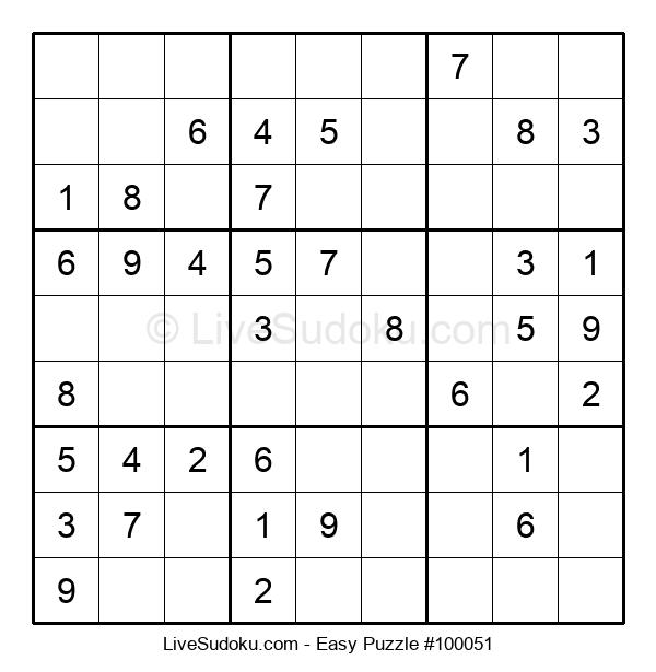 Beginners Puzzle #100051
