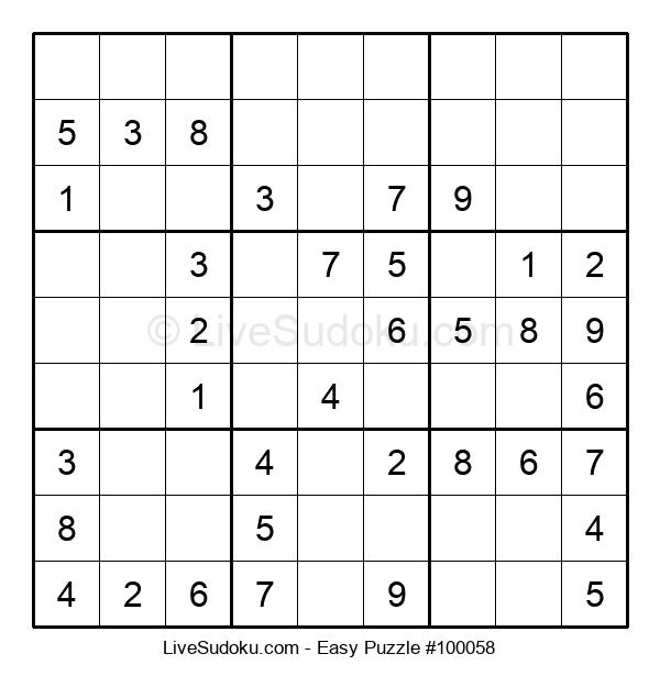 Beginners Puzzle #100058