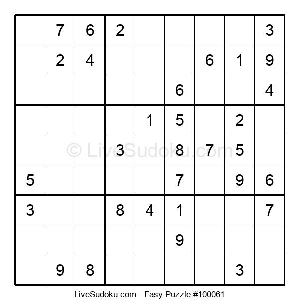 Beginners Puzzle #100061