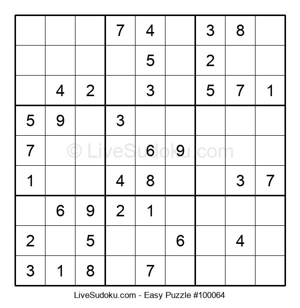 Beginners Puzzle #100064