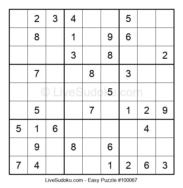 Beginners Puzzle #100067