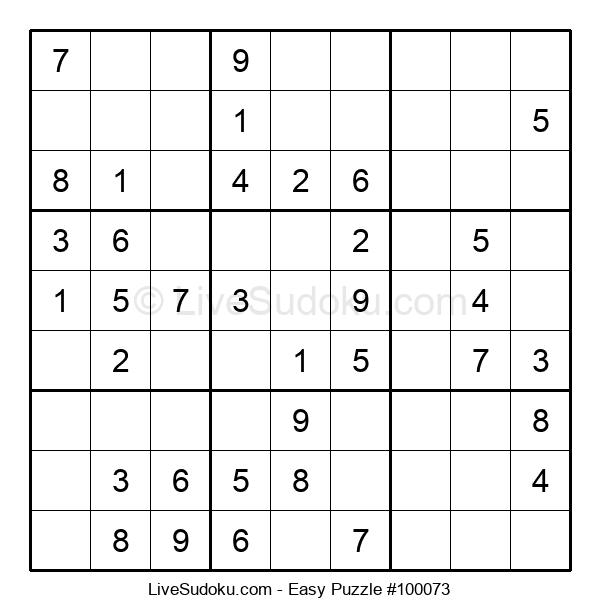 Beginners Puzzle #100073