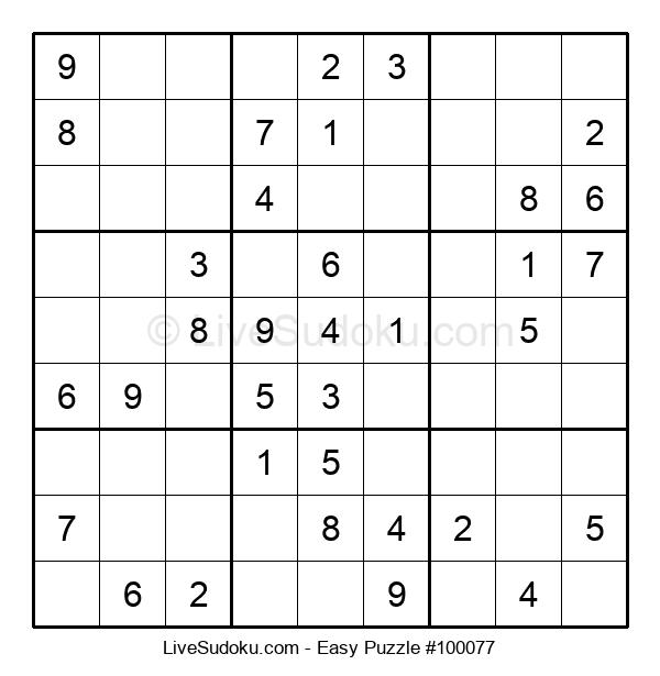 Beginners Puzzle #100077