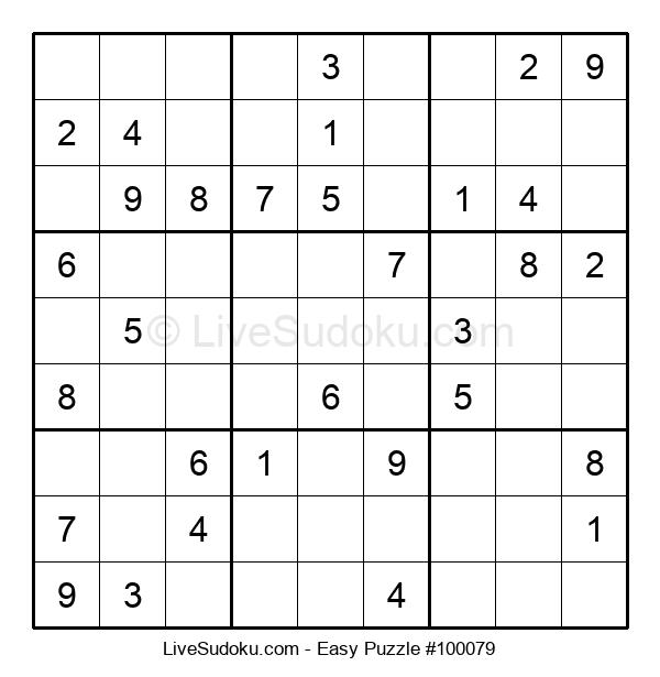 Beginners Puzzle #100079