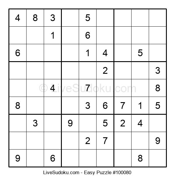 Beginners Puzzle #100080