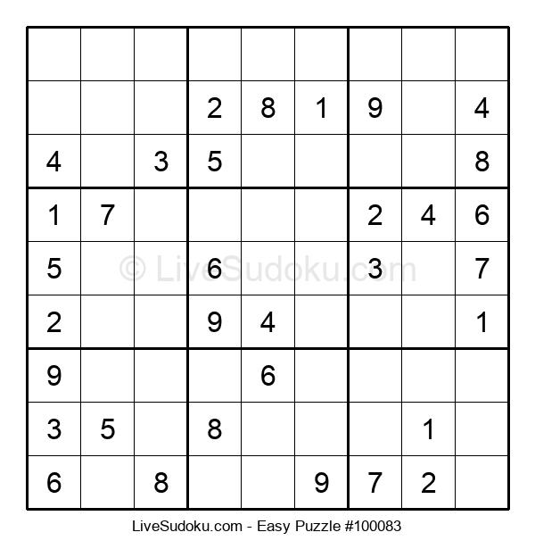 Beginners Puzzle #100083