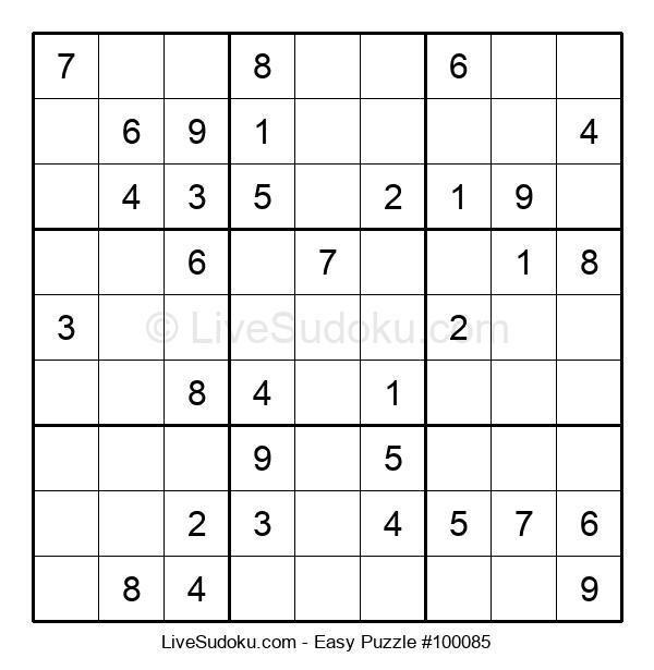 Beginners Puzzle #100085
