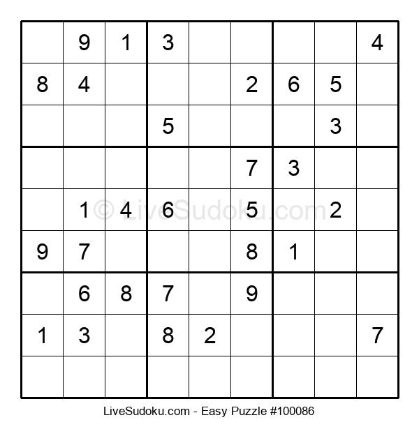 Beginners Puzzle #100086