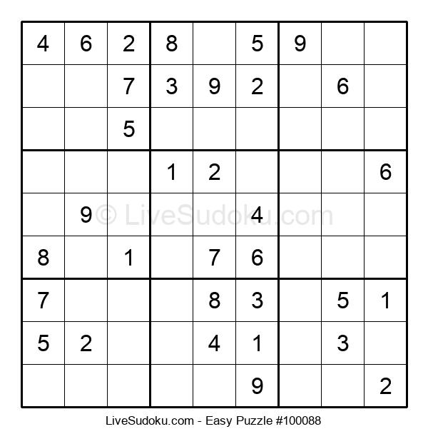 Beginners Puzzle #100088