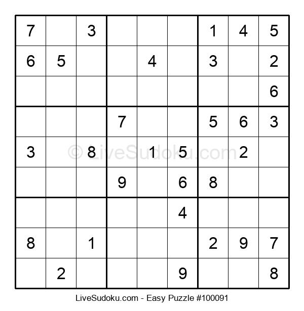 Beginners Puzzle #100091