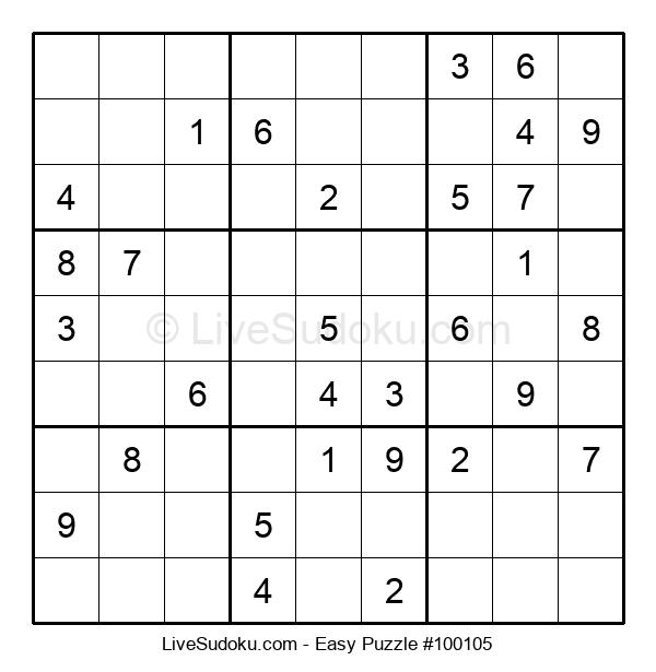 Beginners Puzzle #100105