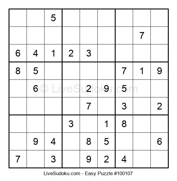 Beginners Puzzle #100107
