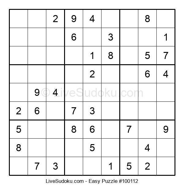 Beginners Puzzle #100112
