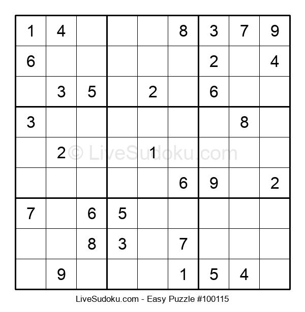 Beginners Puzzle #100115
