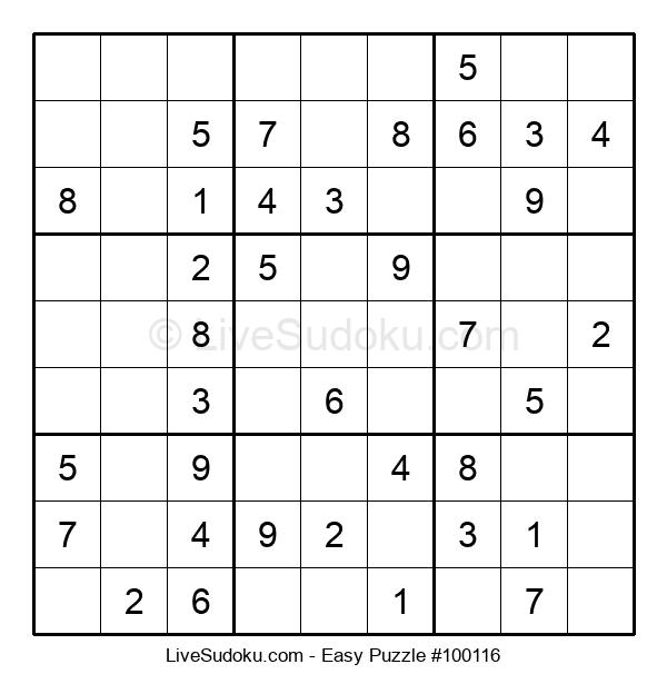 Beginners Puzzle #100116