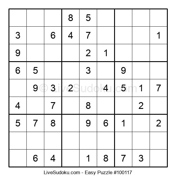 Beginners Puzzle #100117