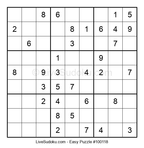 Beginners Puzzle #100118