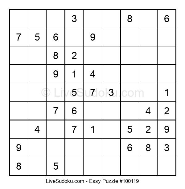 Beginners Puzzle #100119