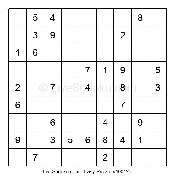 Beginners Puzzle #100125