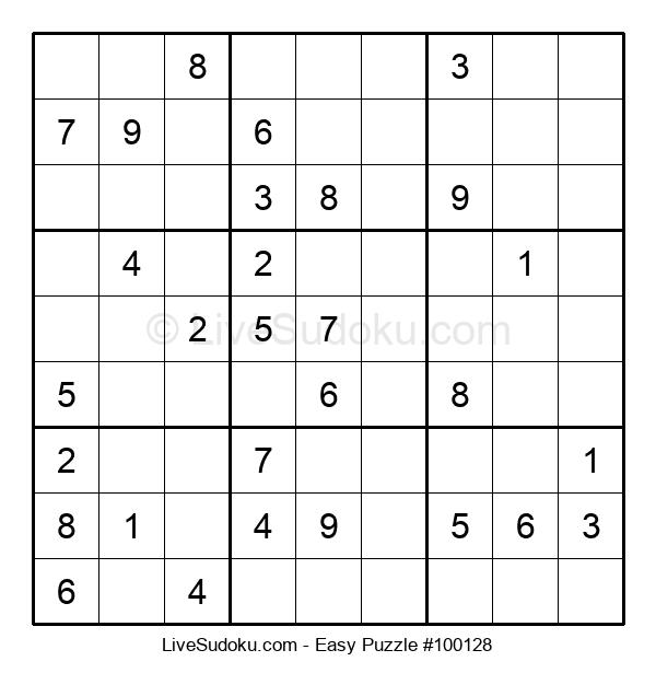 Beginners Puzzle #100128