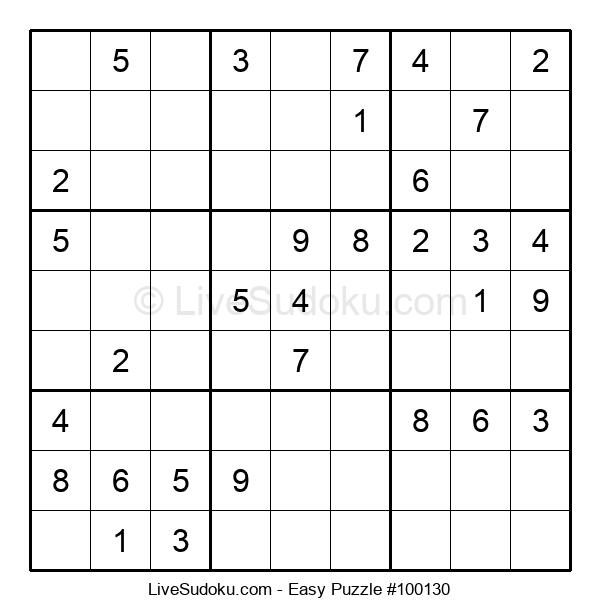 Beginners Puzzle #100130