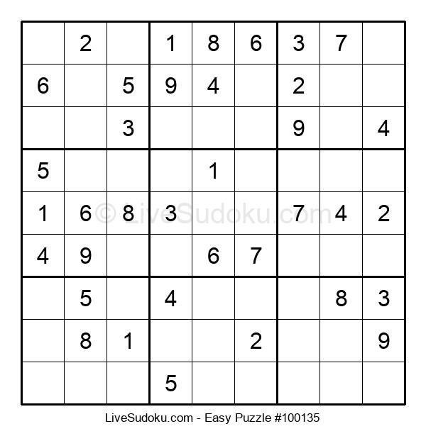 Beginners Puzzle #100135