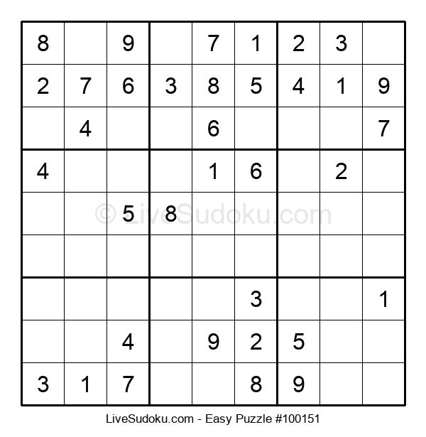 Beginners Puzzle #100151