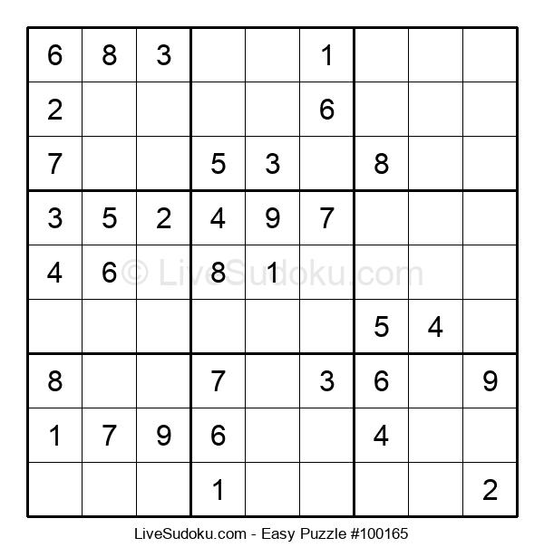 Beginners Puzzle #100165