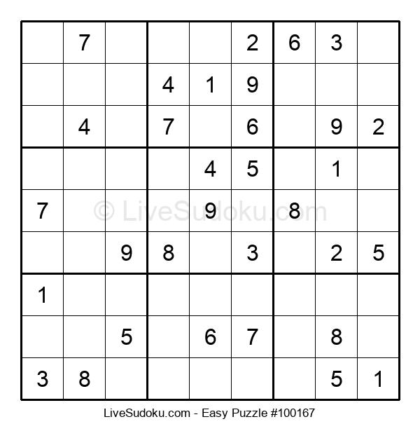 Beginners Puzzle #100167