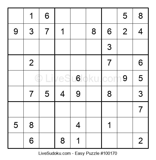 Beginners Puzzle #100170
