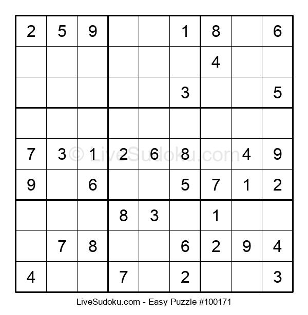 Beginners Puzzle #100171