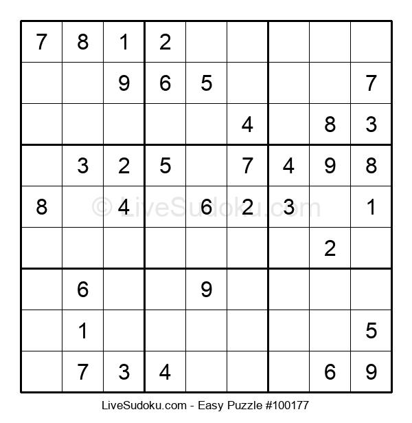 Beginners Puzzle #100177