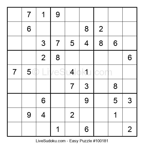 Beginners Puzzle #100181