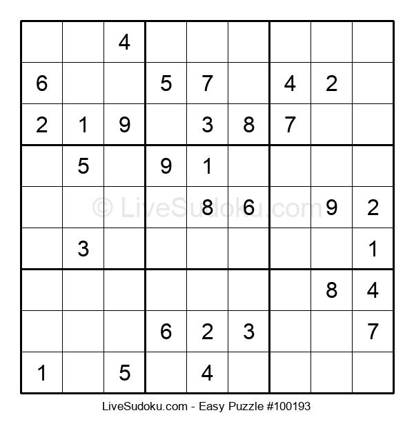 Beginners Puzzle #100193