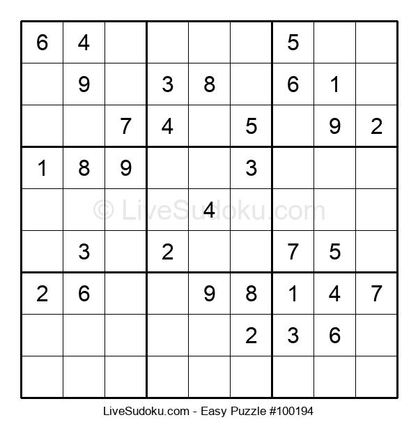 Beginners Puzzle #100194