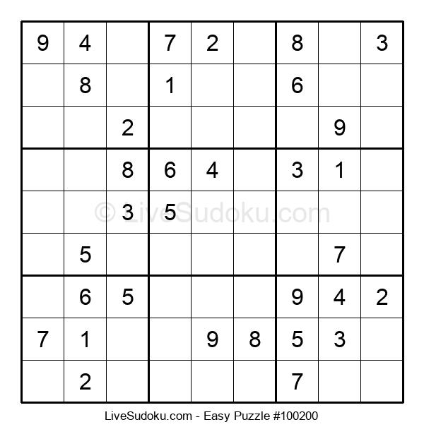 Beginners Puzzle #100200
