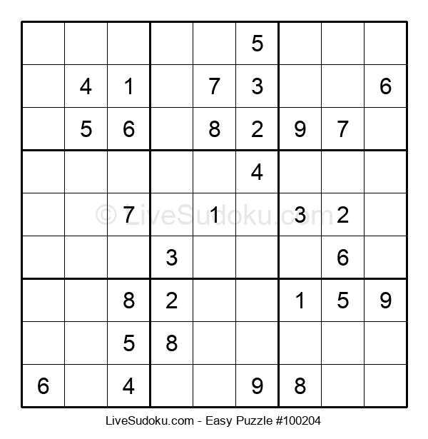 Beginners Puzzle #100204