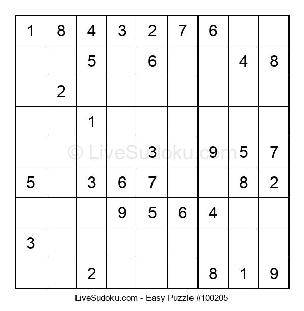 Beginners Puzzle #100205
