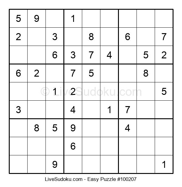 Beginners Puzzle #100207